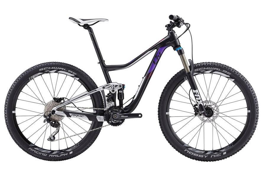 Bicicleta de trail de chica: Liv Pike 3