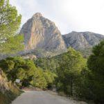 El imponente Puig Campana frente a nosotros