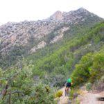 Seguimos pedaleando hacia al Coll del Pouet