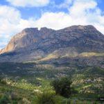 El Puig Campana desde Sierra Cortina