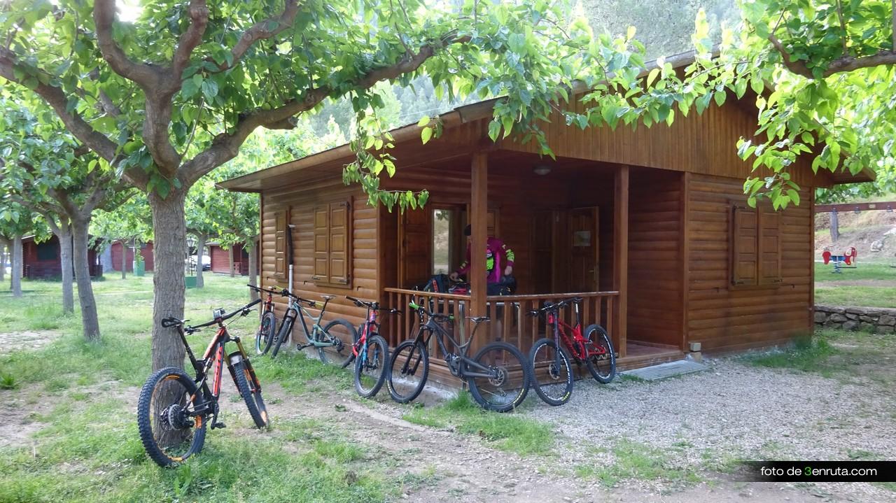 Nos alojamos en el Camping Molí de L'Abad