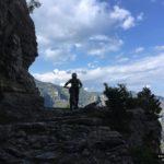 Iniciamos la segunda parte del descenso del Portell de L'Infern