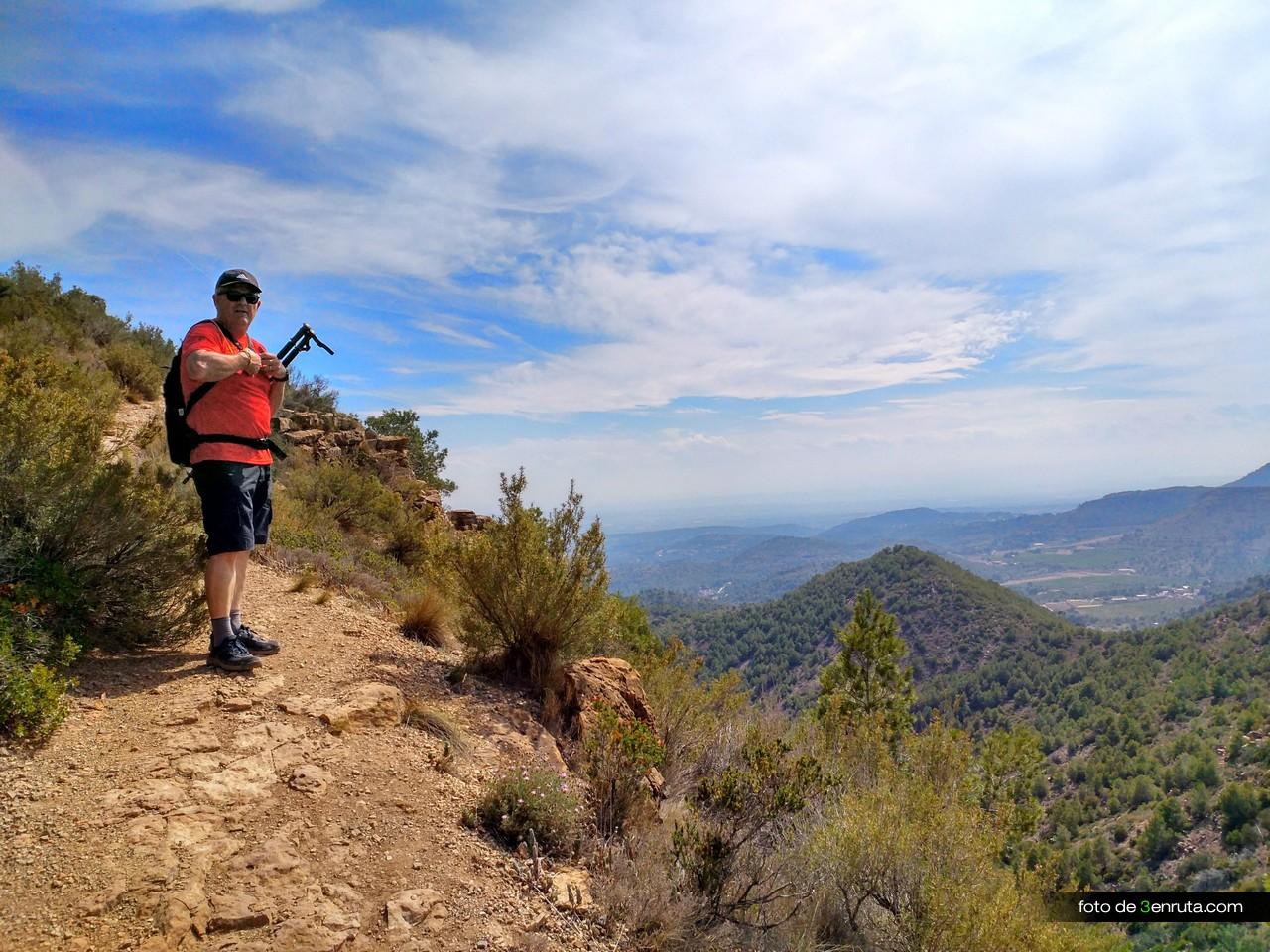 Llegando a la cima del Pic de L'Àguila