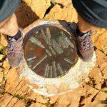 Placa del pilón que encontramos en la Mola de Segart
