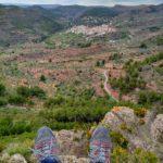 Gátova desde el Pico del Tormo