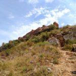 Llegando al Castillo de La Vilavella