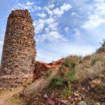 Torre en ruinas del Castillo de la Vilavella