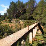 Pequeño puente de hormigón que atravesaremos