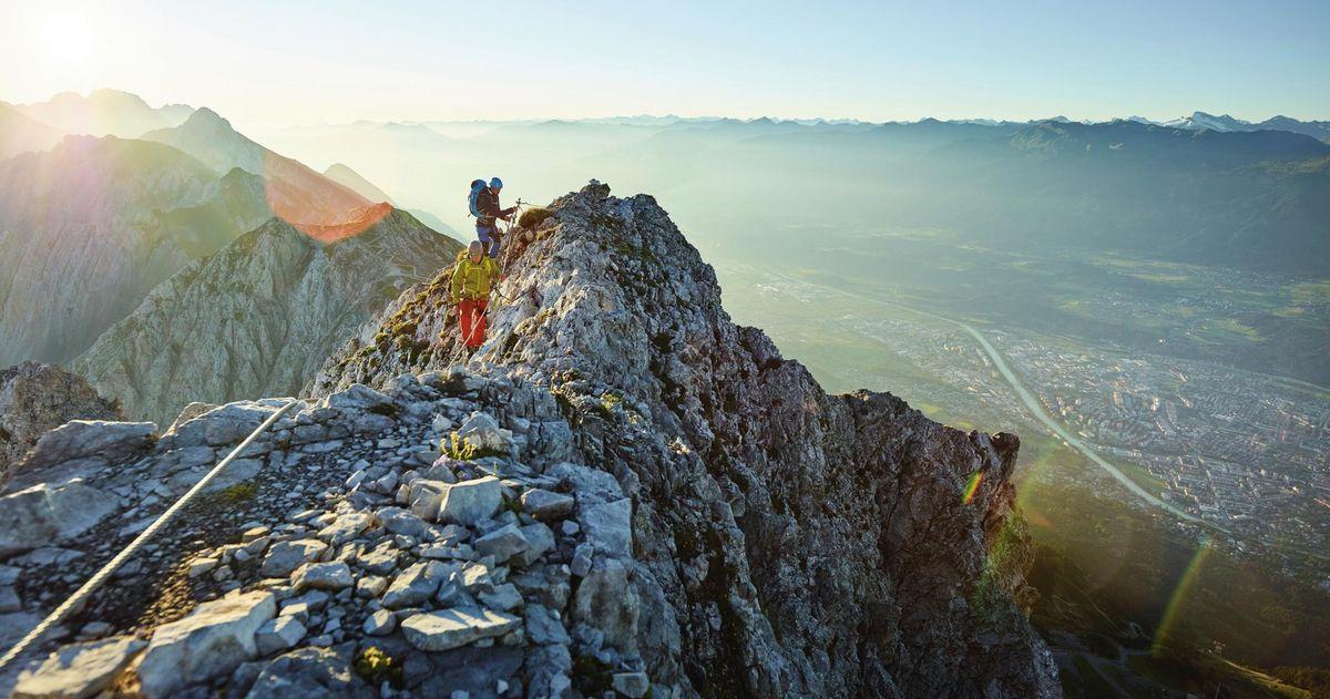 Senderismo de alta montaña