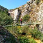 Cruzamos el primer puente de la ruta