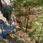 Los tramos difíciles siempre estan habilitados con pasarelas y escaleras