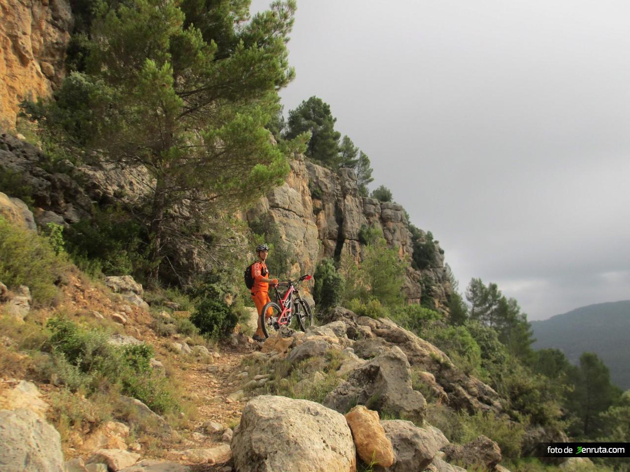 Sendero hacia El Chorrico