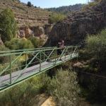 Cruzaremos diversos puentes sobre el Rio Blanco