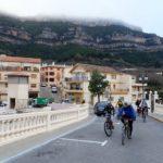 Comenzamos a pedalear por Cortes de Pallás