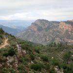 Sendero por el que volvemos a Cortes y Castillo de Chirel