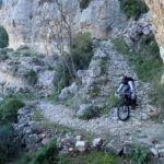 Camino empedrado de la Cortada