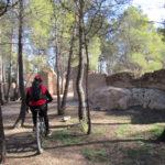 Ruinas junto al centro de Visitantes Ricardo Codorniu