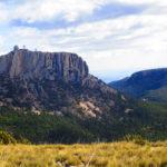 Vista del Morrón de Sierra Espuña y el Radar