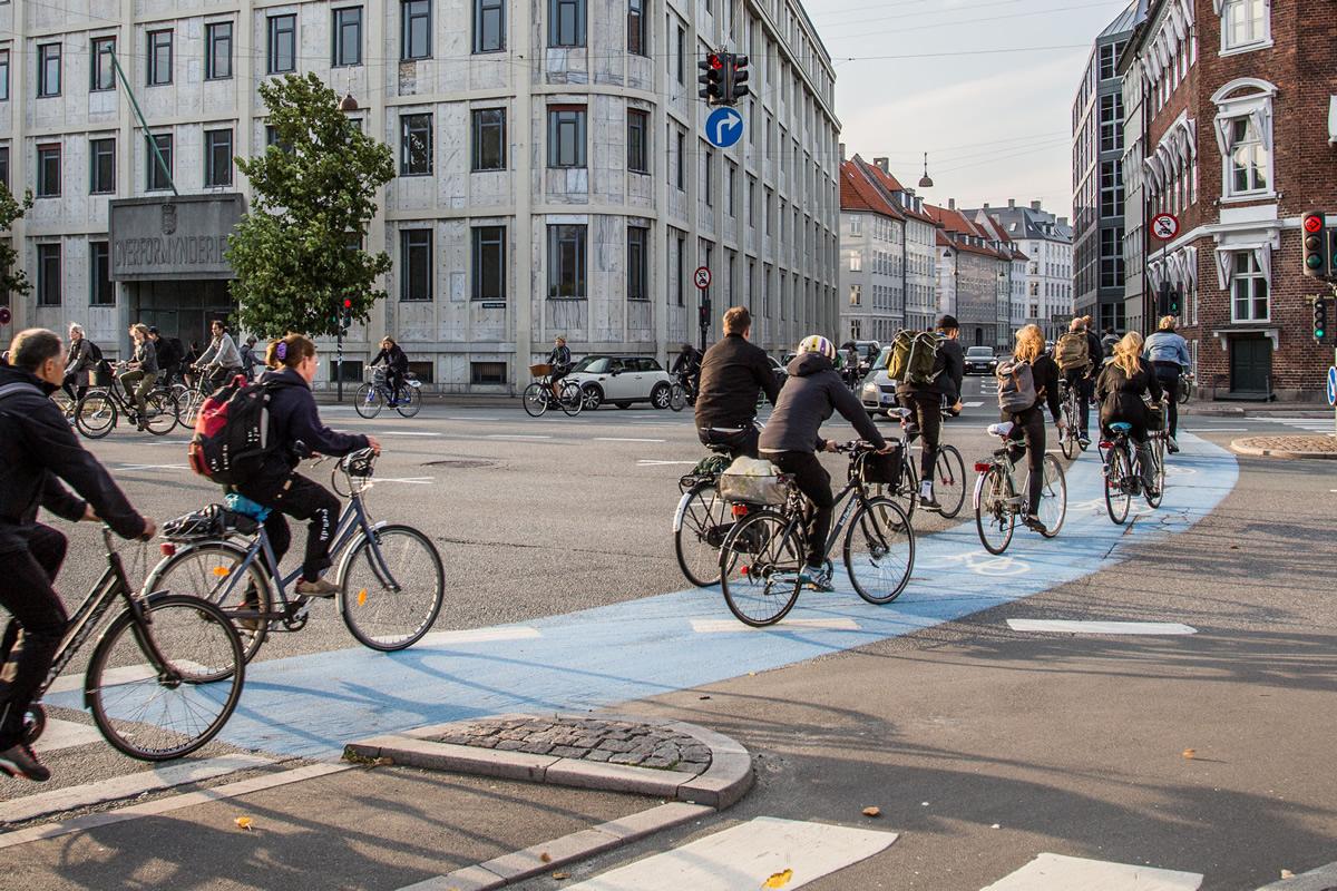 Holanda es uno de los paises en el que más se utiliza la bici para desplazarse