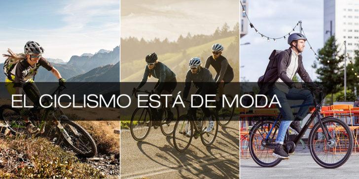 La bici está de moda