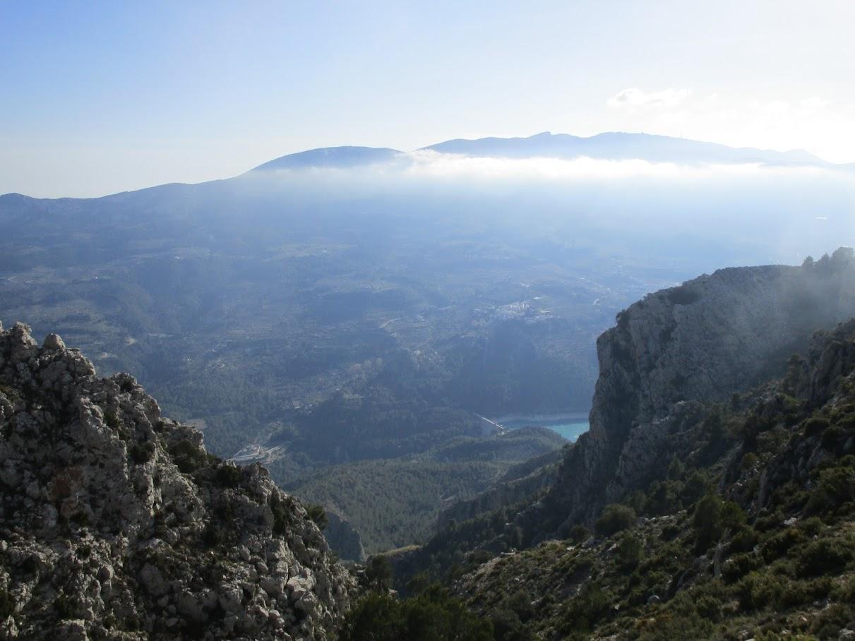 Vistas desde lo alto del Barranc de la Font Major