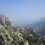 Vistas desde el inicio de la Vistas desde la senda de Muixaraques-Els Casals.
