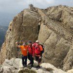 En la cima nos encontramos con 2 buenos amigos: Jordi y Lluís