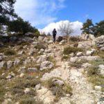 Algún repecho que encontramos duranta la bajada por el Barranc del Forn