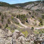 Vista desde lo alto de la Piedra del Castillo