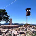 Vertice geodésico y pluviómetro de Sierra Alta