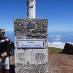 Vértice geodésico del Roque de los Muchachos