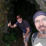 Allá vamos, primer tunel de la ruta