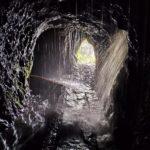 Preciosa imágen dentro del túnel 12 - Aquí no hay mas remedio que mojarse