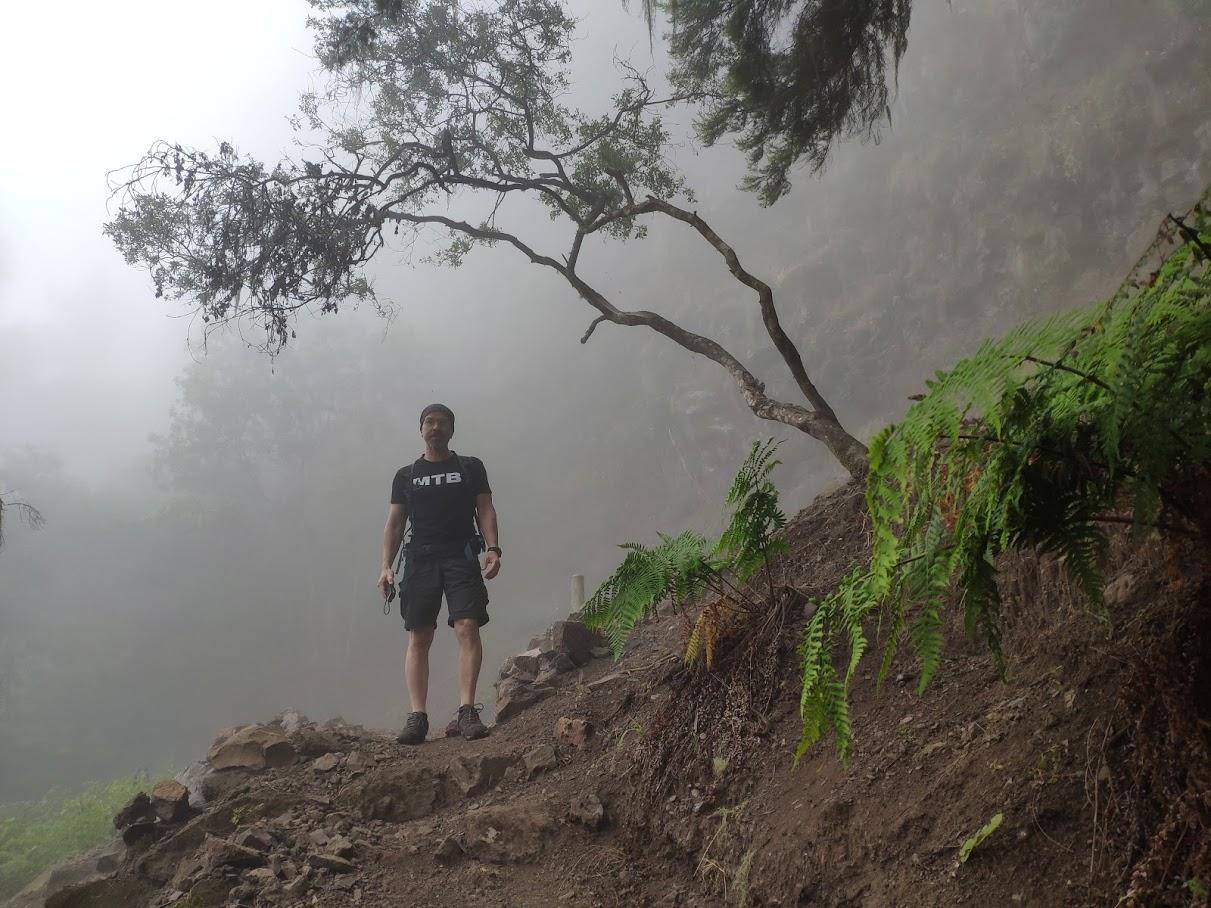 La niebla nos acompaña en gran parte de la ruta