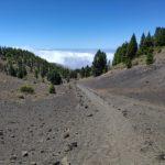 Senda desde el Volcán de la Deseada hacia el Llano de las Latas