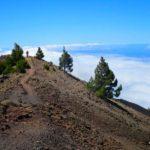 Jordi llegando a lo alto del Volcán