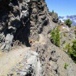Sendero camino al Refugio de la Punta de los Roques