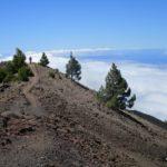Por fin arriba. Llegando a lo alto del Volcán de la Deseada