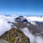 Mar de nubes en la Punta de los Roques
