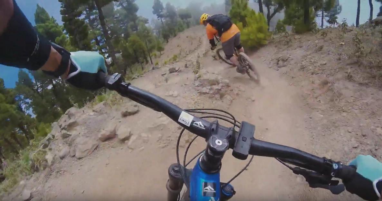 Bajada super-divertida desde El Pico Corralejo al El Pico de las Ovejas
