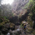 Bajada por el Barranco Rivero