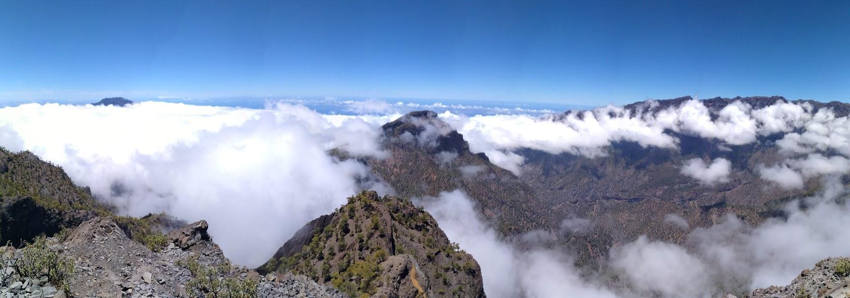 Vista desde el refugio de los Roques
