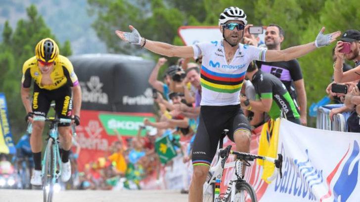 Valverde se enfrenta a Sagan en el mundial