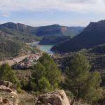 Puebla de Arenoso y el emblase desde el Caserío del Chorrico