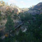 Bajando al lecho del rio Cabriel