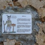 Curiosa dedicatoria a los cazadores