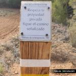 Poste SL y propiedad privada