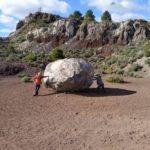Bomba volánica del Cerro de Agrás