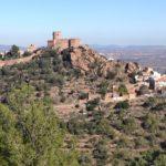 Vista de Vilafamés desde el sendero de subida