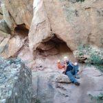 La roca dibuja curiosas formas por la erosión